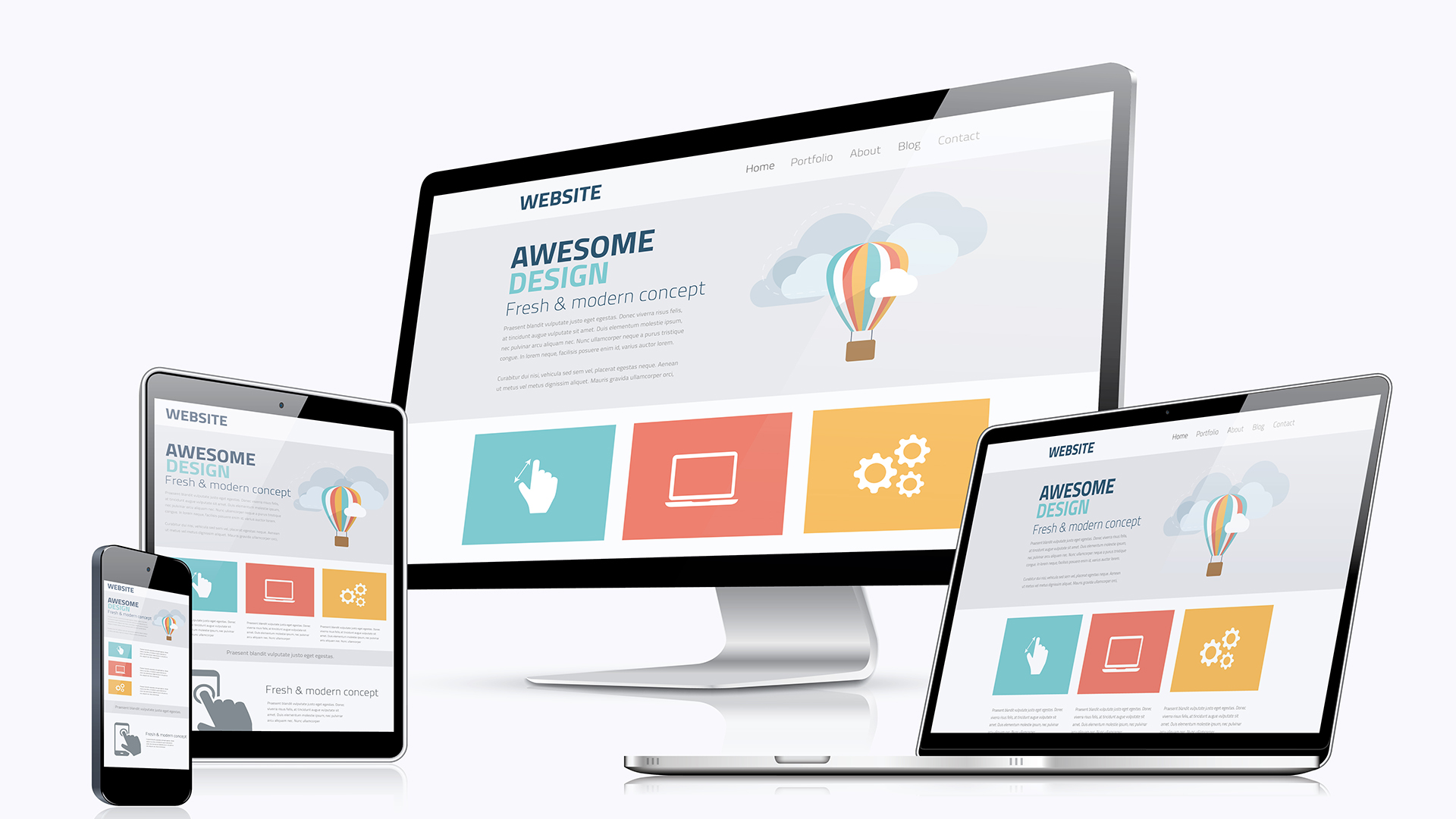 Web Design – Hashtags Media